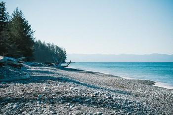 A clean beach to take a trip to.